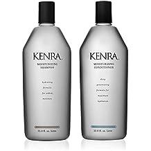 Kenra Professional Moisturizing Shampoo and Conditioner Set, 33.8-Ounce