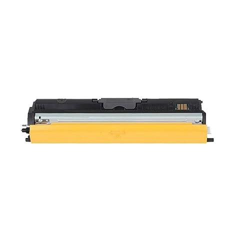 MALPYQA Compatible con el Cartucho de tóner OKIC110 para la ...