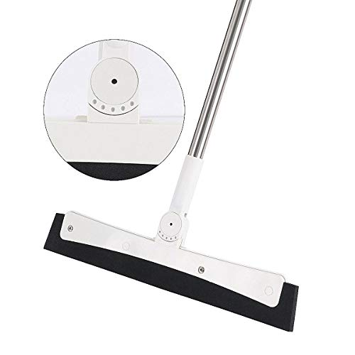 Floor Squeegee Removable with Stainless Steel Long Handle - 50