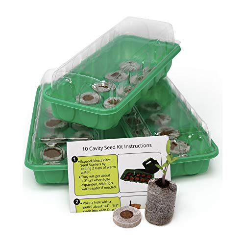 seed starter kit with dome - 4