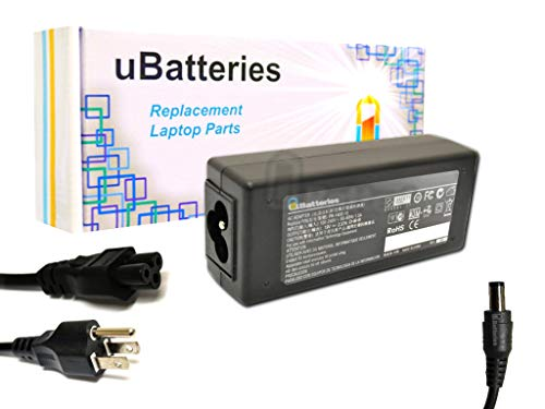 UBatteries Compatible 19V 45W AC Adapter Charger Replacement for Toshiba Satellite L955 L955D P840 P840t P845 P845t S955 S955D U845 U845t U845W U920 U920t U925 U925t U935 U945 Series