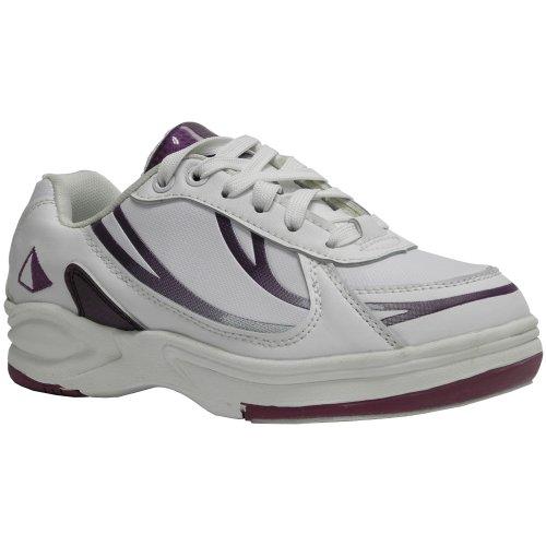 Pyramide Femmes Chemin De Sport Chaussures De Bowling Blanc / Violet