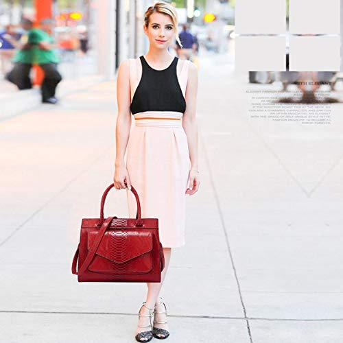 Fashion Tracolla Maniglia Blu Rosso Doris Donna Tracolla Crocodile Nicole Borse c0fnvyq