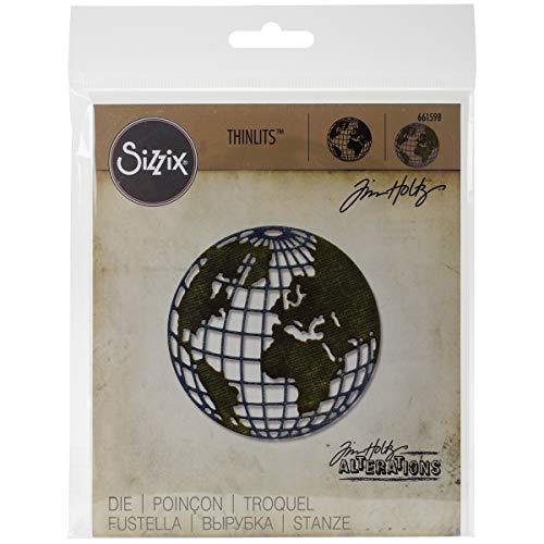 Sizzix 661598 Thinlits Die, Globe, Mini by Tim Holtz