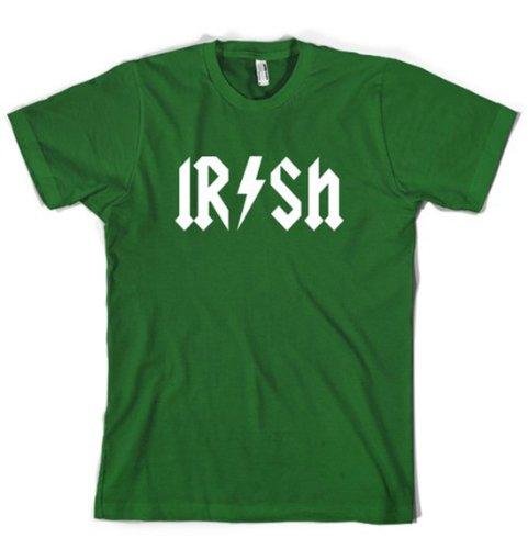 Kids Irish Rockstar Band Logo T Shirt Funny Saint Patricks Day Youth Shirt M