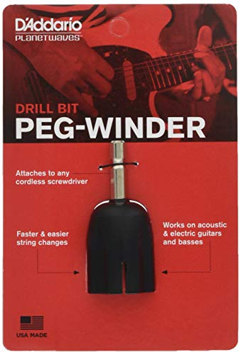 Planet Waves Drill Bit Peg Winder (Best Acoustic Guitar Luthiers)