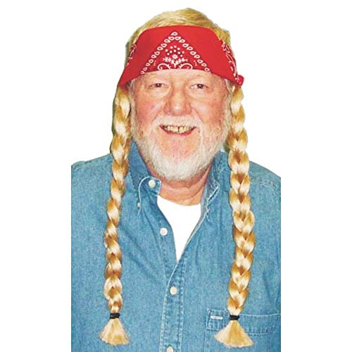 - Morris Costumes Party Costumes Accessories The Old Hippie Wig