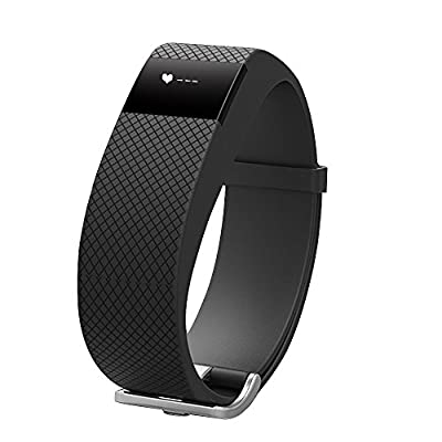 Fitness Tracker with Heart Rate Monitor, Morefit Wireless Bluetooth Touch Screen Smart Watch Healthy Wristband