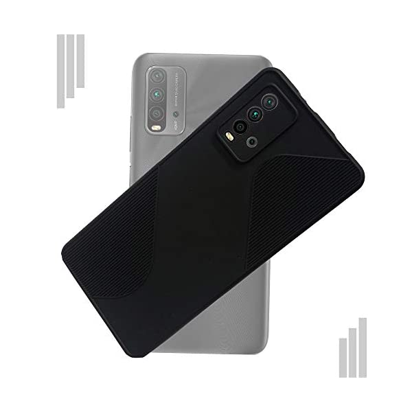 Movariete Back Cover for Redmi 9 Power Matte Soft Silicon Flexible   Camera Bump Protection   All Side Shock Proof… 2021 July Compatible with Xiaomi Redmi 9 Power mobile only Case Type: Back Case Cover Ultra-slim, light weight protect your valuable investment from scratches and damage
