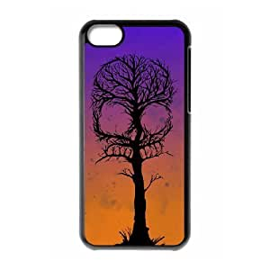 MMZ DIY PHONE CASESkull Tree ZLB518694 DIY Phone Case for iphone 4/4s, iphone 4/4s Case
