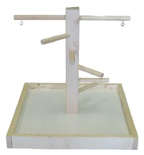 T4001 Wood Play Stand Small Playgym & Stands For Birds