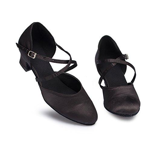 Meijili ,  Damen Tanzschuhe L116Black