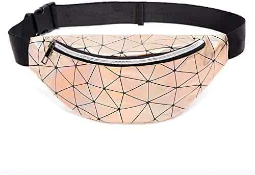 7124efe7c26f Shirleyle-Spwp Fanny Packs Waist Pack Fanny Pack for Women/Men, PVC  Waterproof