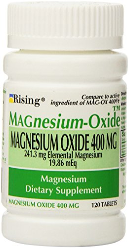 Magnesium Oxide 400 mg Dietary Supplement Tablets - 120 ()