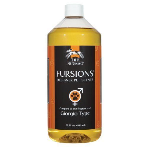 Top Performance Fursions Dog Cologne, Giorgio, 8-Ounce, My Pet Supplies