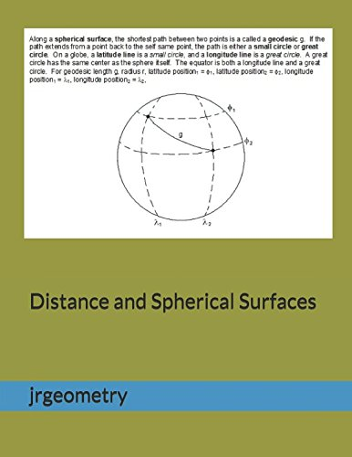 Download Distance and Spherical Surfaces ($1 Geometry Study Guide Downloads) PDF