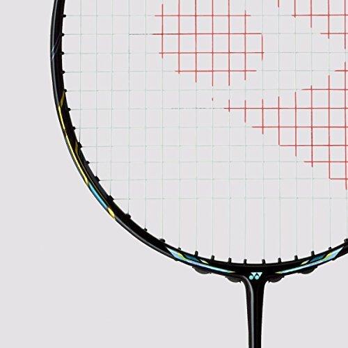 Yonex Nanoray Glanz 4U G4 Badminton Racquet (Black) pre strung