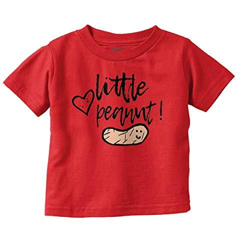 Little Peanut Adorable Shower Infant Toddler T Shirt Red