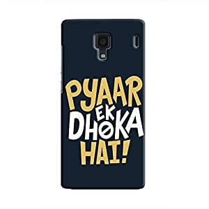 Cover It Up - Love Betrays Redmi 1s Hard Case