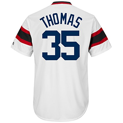 Frank Thomas Chicago White Sox Cooperstown Coolbase Jersey (Small)