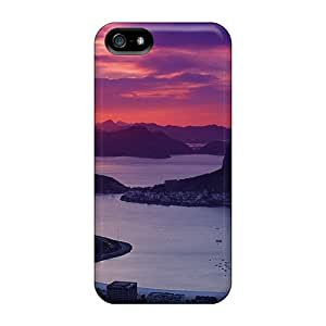 Cute Tpu Mimorton Sunset At Sugar Loaf In Rio Case Cover For Iphone 5/5s