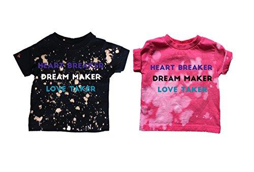 Heart Breaker/Dream Maker/Love Taker TShirt and Bodysuit
