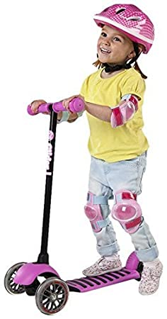Ivolve Sports Y-Volution - Patinete YGlider Deluxe Rosa ...