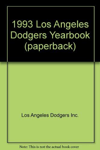 1993 Los Angeles Dodgers Yearbook (paperback)