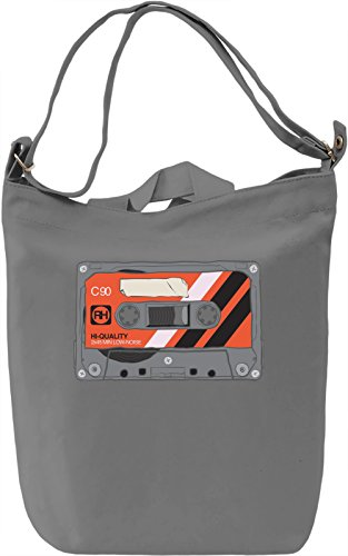 Casette Borsa Giornaliera Canvas Canvas Day Bag| 100% Premium Cotton Canvas| DTG Printing|
