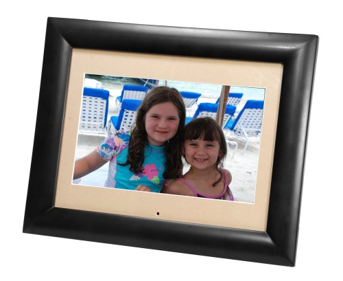 Smartparts SP1100B 11-Inch Digital Photo Frame (Black Wood) (11 Frame Digital Inch Photo)
