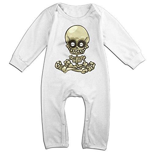 - Alipapa Boy's & Girl's Tiny Funny Skull Bones New Design T-Shirt White Size 12 Months