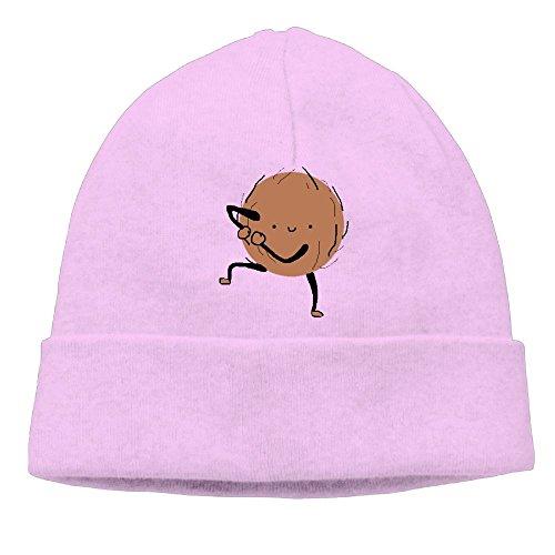Hat Backwards Costume (Uanjuzn Dancing Coconut Men/Women Cool Fashion Hedging Hat Wool Beanies Cap)