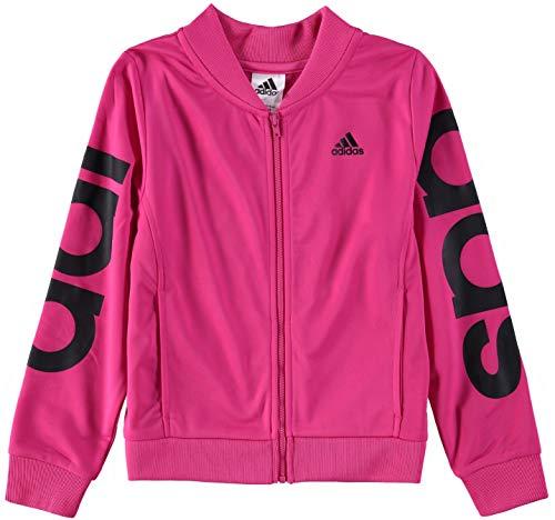 adidas Girls' Big Bomber Jacket, Magenta ap, M (10/12)