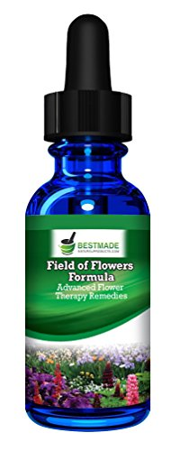 Field of Flowers Formula 10mL, A Combination of All 37 Advanced Flower Remedies, Natural Relief for Emotional Symptoms Like Anxiety, Fear & Despair, No Side Effects, Safe for Adults & Children