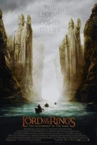 Lord Of The Rings Fellowship Of The Ring Movie Poster 24in x36in (24x36 Lord Of The Rings)