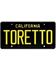 The Fast and The Furious | Charger | Toretto | Metal Stamped Vanity License Plate