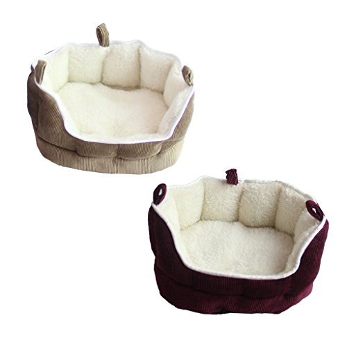 Homyl 2Pcs Pet Hanging Nest Sleep Home Nester Hamster Gerbil Bed Hammock House- Rat Mouse from Homyl