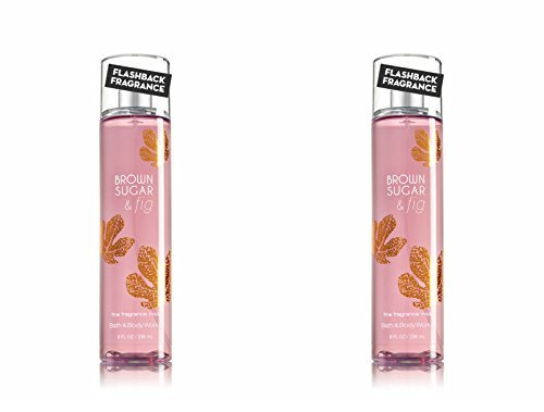 - Bath and Body Works Mist, Brown Sugar and Fig, 8.0 Ounce - Set of 2
