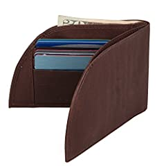 A better-fitting wallet--designed to be worn in the front pocket. The Rogue Men's Wallet is the most comfortable wallet you'll ever have! Its revolutionary curved design fits comfortably in your front pocket, helping to alleviate back pain ca...