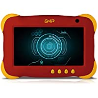 GHIA Tablet 7 Kids, Quad Core, 1GB de RAM, 8GB de Almacenamiento, 2 Cámaras, WiFi, Android 7.1, Color Roja