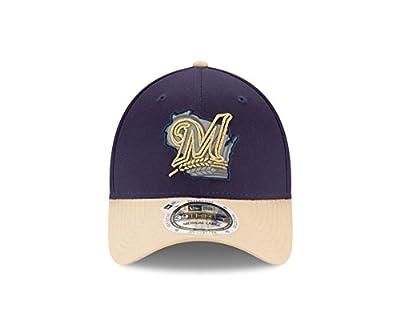 New Era Milwaukee Brewers State Reflection 39THIRTY Hat