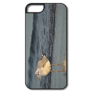 YY-ONE Interior Scratch Protection Golden Seagull IPhone 5/5s Case For Birthday Gift