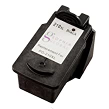 Sophia Global Remanufactured Ink Cartridge Replacement for Canon PG-210XL, 1 Black