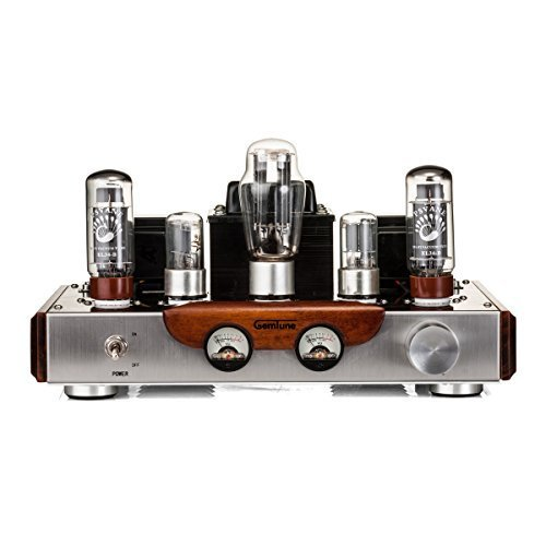 GemTune GS-01 Class A Integrated Hi-Fi Tube Amplifier with Tubes: EL342 + 6N9P2 +5AR41 41PYivP DVL
