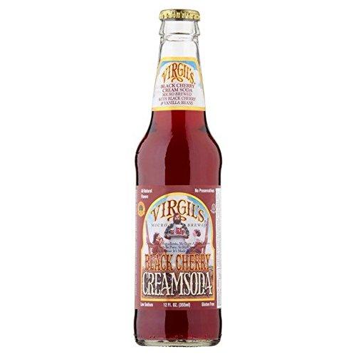 virgils black cherry cream soda - 6