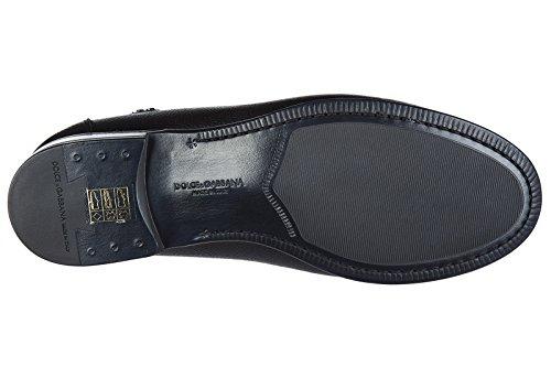 Dolce&Gabbana mocassini uomo in pelle originale bramante nero