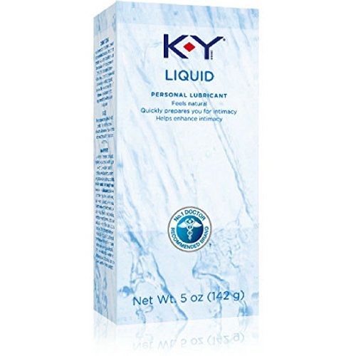 K-Y Liquid Personal Water Based Lubricant, 5 Ounce