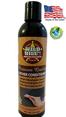 Leather Bourke (Wild Bill's Leather Conditioner & Restorer, Premium Leather Protector in Cars, Furniture, Purses, Saddles, Shoes, Boots, Bags & more, 8 oz)