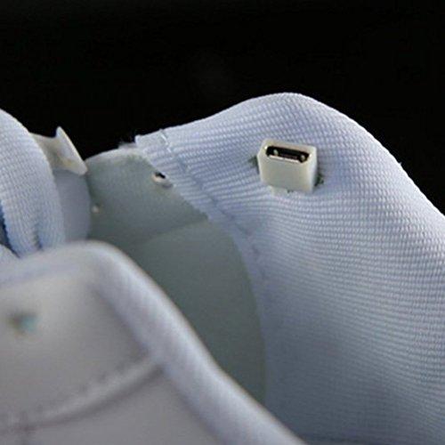 Sport Aufladen Schuhe Freizeitschuhe Winter LED Schwarz Paare schuhe lau JUNGLEST® bunt Erwachsene Present Handtuch Herbst und Leucht Leuchtend kleines USB BgSnAY6
