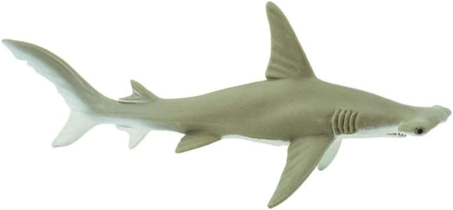 "SAFARI LTD HAMMERHEAD SHARKS LOT OF 25 GOOD LUCK MINIS #100170 TINY 1/"" LONG NEW"
